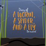 Diary of a Worm, Spider,Fly LOGO